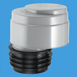 """McAlpine Ventapipe Air Admittance Valve For 4"""" Or 3"""" Soil Pipe."""