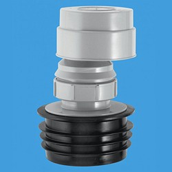 """McAlpine Ventapipe Air Admittance Valve (4"""" or 3"""" Soil Pipe, or 2"""" Waste Pipe)."""