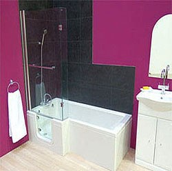 Mantaleda Savana Walk In Shower Bath With Left Hand Door (1670x850).