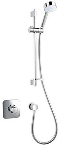 Mira Adept Concealed Thermostatic Shower Valve With Slide Rail Kit (Eco).