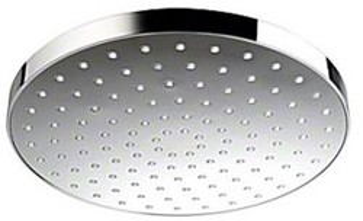Mira Beat Shower Head (250mm, Chrome).