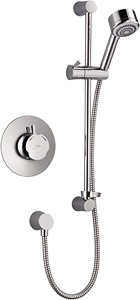 Mira Discovery Concealed Thermostatic Shower Valve With Shower Kit (Chrome).