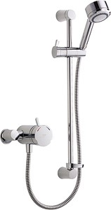 Mira Discovery Exposed Thermostatic Shower Valve With Shower Kit (Chrome).