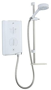Mira Electric Showers Mira Sport Thermostatic 9.0kW in white & chrome.