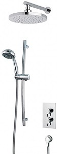 MX Showers Atmos Select Shower Valve With Slide Rail Kit & Round Head.