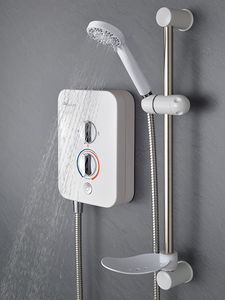 MX Showers Intro 850 Electric Shower (8.5kW, White & Chrome).