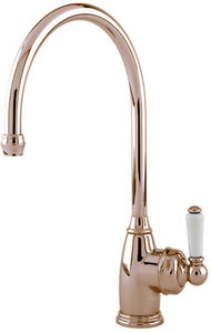Perrin & Rowe Parthian Mini Boiling Water Kitchen Tap (Polished Nickel).