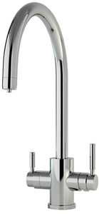Perrin & Rowe Phoenix 3n1 Boiling Water Kitchen Tap (Chrome, C Spout).