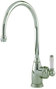Perrin & Rowe Parthian Kitchen Mixer Tap With Single Lever (Pewter).