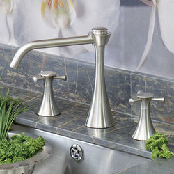 Perrin & Rowe Oasis 3 Hole Kitchen Tap (Pewter).