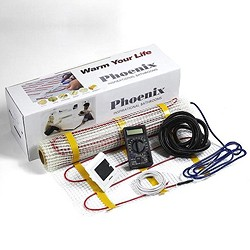 Phoenix Heating Electric Underfloor Heating kit (3 Sq Meters Heating Mat).