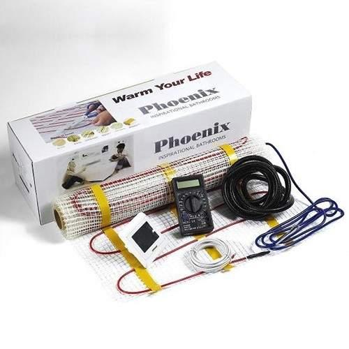 Phoenix Heating Electric Underfloor Heating kit (5 Sq Meters Heating Mat).