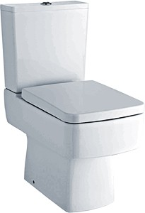 Crown Ceramics Bliss Toilet With Push Flush Cistern & Seat.