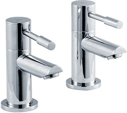 Crown Series 2 Bath Taps (Chrome).