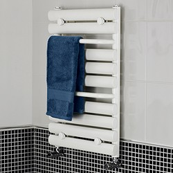 Crown Radiators Radiator With Built In Towel Rails (White). 445x650mm.