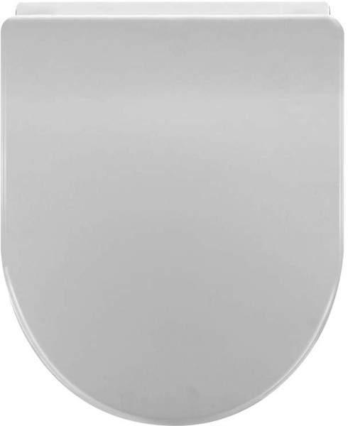 Crown Standard D-Shape Soft Close Toilet Seat.