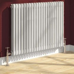 Reina Radiators Colona 2 Column Radiator (White). 500x605mm.