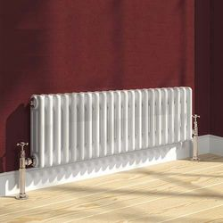 Reina Radiators Colona 3 Column Radiator (White). 300x1190mm.