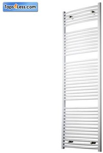 Reina Radiators Diva Flat Towel Radiator (White). 1800x600mm.