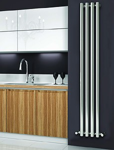 Reina Radiators Oria Vertical Radiator (Chrome).270x1800mm.
