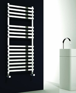 Reina Radiators Carina Towel Radiator (Chrome). 1200x500mm.