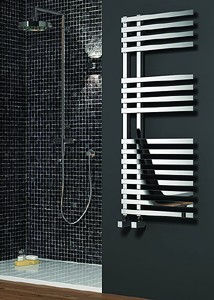 Reina Radiators Felino Towel Radiator (Chrome). 775x500mm.