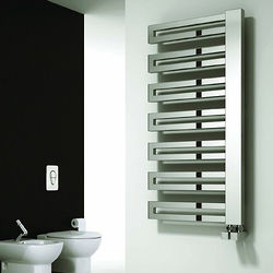 Reina Radiators Ginosa Towel Radiator (Chrome). 1000x500mm.