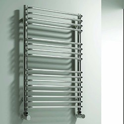 Reina Radiators Isaro Towel Radiator (Chrome). 300x1100mm.
