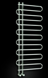 Reina Radiators Jesi Towel Radiator (Chrome). 500x1000mm.