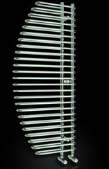 Reina Radiators Nola Designer Towel Radiator (Chrome). 600x1400mm.