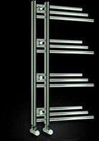 Reina Radiators Palmari Towel Radiator (Chrome). 500x900mm.
