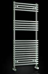 Reina Radiators Pavia Towel Radiator (Chrome). 600x800mm.