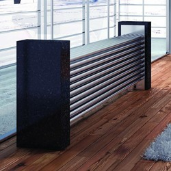 Reina Radiators Marinox Radiator With 26 Tubes (Stainless Steel). 500x1200.
