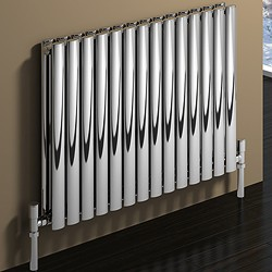 Reina Radiators Nerox Double Radiator (Polished Stainless Steel). 413x600.