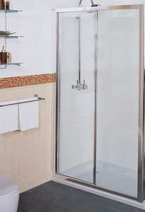 Sliding Shower Door 1200mm Silver Roman Collage Ro Ct1213s