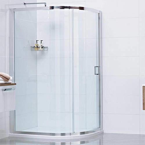 Roman Lumin8 Offset Quadrant Shower Enclosure With 1 Door (800x1200).