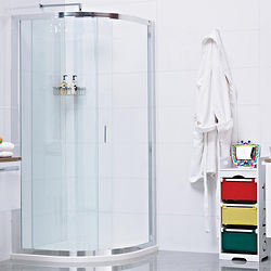Roman Lumin8 Quadrant Shower Enclosure With 1 Door (900x900mm).