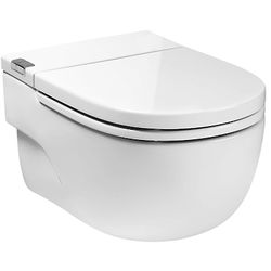 """Roca In Tank Wall Hung Pan With Integrated Cistern & Seat (Solid Wall """"I"""" Type)."""