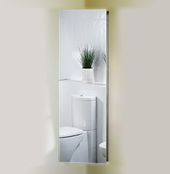 corner bathroom cabinet mirror corner mirror bathroom cabinet 380x1200x200mm roma 17915