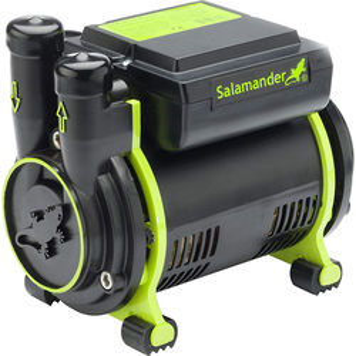 Salamander Pumps CT55 Xtra Single Shower Pump (+ Head. 1.6 Bar).