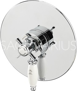 Sagittarius Churchmans Concealed Thermostatic Shower Valve (Chrome).