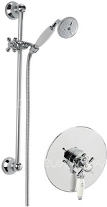 Sagittarius Churchmans Concealed Shower Valve With Slide Rail Kit (Chrome).