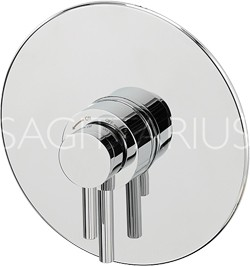 Sagittarius Ergo Concealed Thermostatic Shower Valve (Chrome).