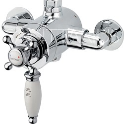 Sagittarius Fantasy Exposed Thermostatic Shower Valve (Chrome).