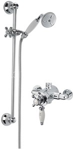 Sagittarius Fantasy Exposed Shower Valve With Slide Rail Kit (Chrome).