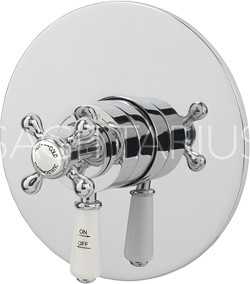 Sagittarius Kensington Concealed Thermostatic Shower Valve (Chrome).