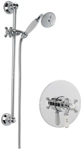 Sagittarius Kensington Concealed Shower Valve With Slide Rail Kit (Chrome).