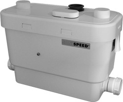 Saniflo Sanispeed Light Commercial Greywater Pump.