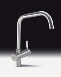 Smeg Taps Siena Kitchen Tap With Single Lever (Brushed Stainless Steel).