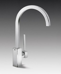 Smeg Taps Ukparma Kitchen Tap With Single Lever (Chrome).